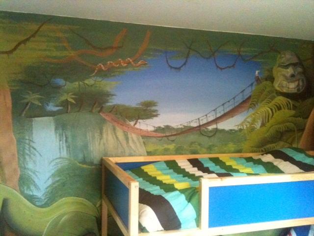Decor Chambre Enfant Peinture Chambre Ado Fresque Chambre Trompe