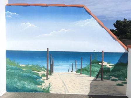 Fresques Murales Décor Peint Sur Façade Peinture Murale